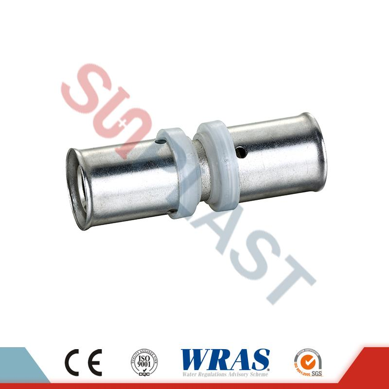 PEX-AL-PEX Pipe Press Coupling